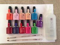 Cnd Shellac gel nail polishes genuine