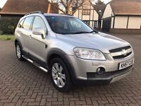 Automatic 7 Seater Chevrolet Captiva 4X4 Full Black Leather Seats MOT Ready to drive away today