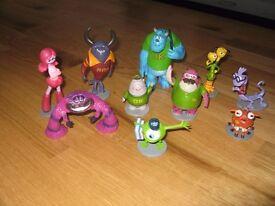 Monsters inc Miniature figures (10 figures)