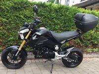 Mint condition Honda motorbike
