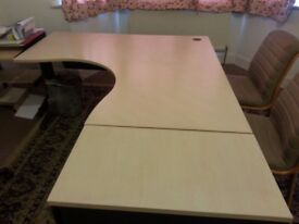 Office desk with Drawer and official conference table