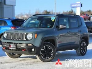 2016 Jeep Renegade TRAILHAWK | 4X4 | LEATHER | NAV