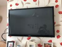 Samsung 43 inch 3D TV with wall mount