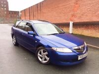 2003 03 REG, MAZDA 6 TS2 TURBO DIESEL, ESTATE ***BARGAIN***