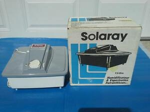 Humidificateur a vaporisation. Solaray 7.5 Litres. Canada. West Island Greater Montréal image 1