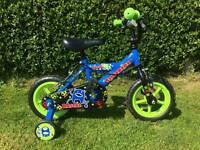 Sliver fox kids bike
