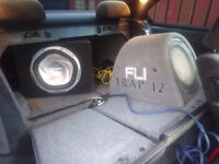 x3 amps and x2 subs