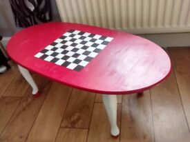 Chess/Coffee table