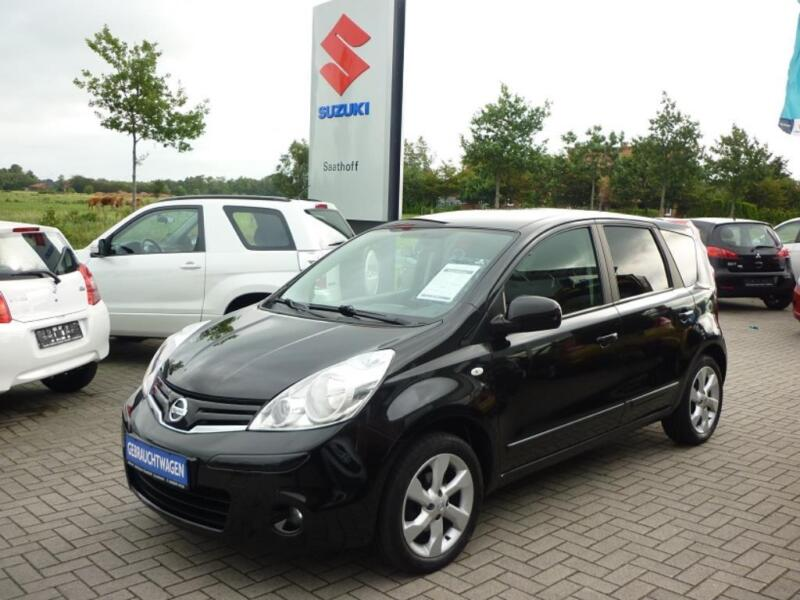 nissan note acenta in niedersachsen gro heide nissan. Black Bedroom Furniture Sets. Home Design Ideas