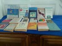 Self help books.