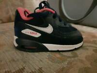 Infant nike air max size uk 3 genuine