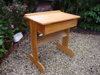 Child's Solid Timber Desk.