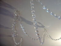 68 Metres of Glass Chandelier Drops Garland Chains For Weddings, Parties, Christmas