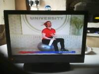 Tv lcd 19 inch with dvd