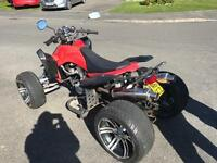 Quad bike (road legal) 2012 250cc