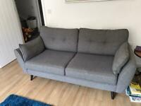 French Connection 3 seat sofa