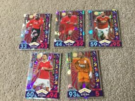 For sale match attax, legends/ record breakers