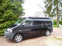 VW CAMPERVAN - LEISUREDRIVE LIFESTYLE PROFESSIONAL CONVERSION.T5 MODEL - PEARL BLACK - 2011