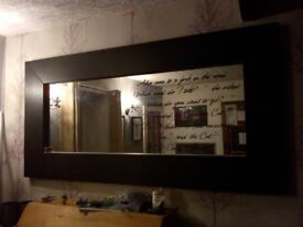 IKEA mirror beautiful, really good condition, £100 from new, buy now for £30
