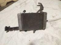 Honda 125cc radiator system complete