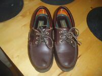 Genuine Timberland Deck Shoes - Brown leather Size 8