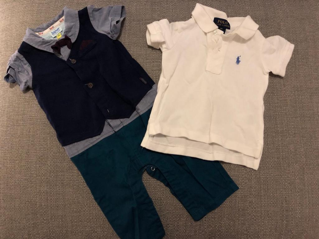 eab171b11 6-9 months baby boy clothes bundle including Ted Baker and Ralph Lauren