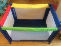 Mothercare travel cot playpen