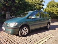 VAUXHALL ZAFIRA 1.8 FOR SALE (great car + cheap insurance ) 7 seater
