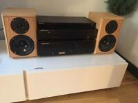 Perfect condition Marantz CD and Amp with Eltax monitor III