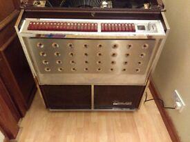 JUKEBOX 1960's ROWE AMI STEREO SOUND TROPICANA CIRCA EARLY 60's - will need TLC