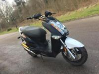 Hanway 50 cc moped