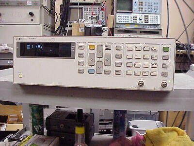 Hp 3324a Synthesized Function Sweep Generator 21 Mhz Tested