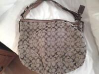 "Ladie's ""Coach"" Handbag"