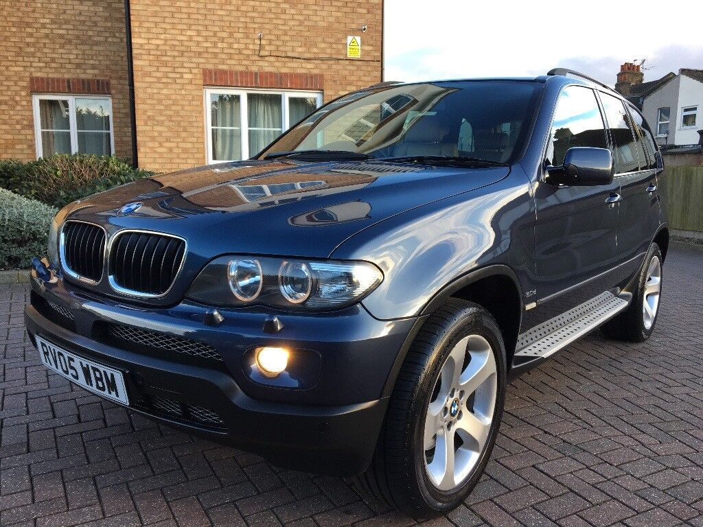 bmw x5 3 0d auto sport 2005 blue high spec in enfield london gumtree. Black Bedroom Furniture Sets. Home Design Ideas