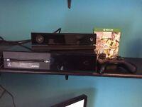 Xbox one with Kinect sensor and Fifa 17