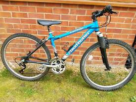 "Boys claud butler 24"" wheel lightweight aluminium mountain bike."