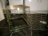 Small dog crate