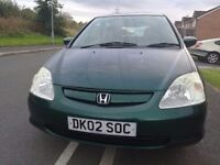 AUTOMATIC HONDA CIVIC FOR SALE ONE OWNER FROM NEW