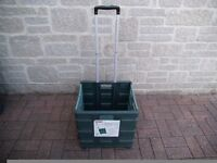 PACK AND ROLL COLLAPSIBLE TROLLEY