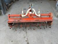 Kubota 1.5m rotovator / cultivator