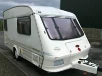 Excellent 2 Berth Caravan Elddis Whirlwind + Awning