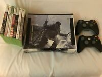 Microsoft Xbox 360 bundle. Call of Duty special edition