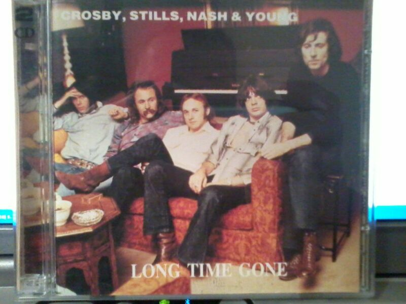 CROSBY,STILLS,NASH and YOUNG  - LONG TIME GONE ,2 cd