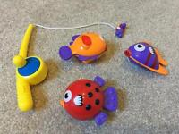 Kid's Fishing Game - With Magnetic Rod