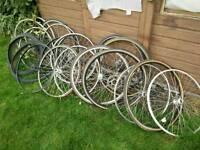 Job lot 700c road bike wheels