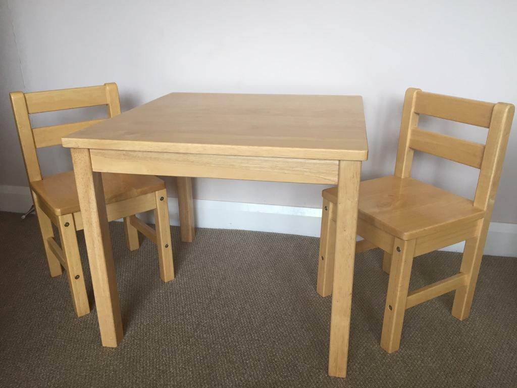 Children S Table And Chair Set John Lewis