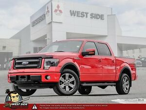 2014 Ford F150 Supercrew Lariat–Accident Free–Navigation–2.4L–