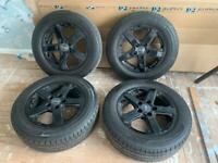VW Transporter T5 Alloy Wheels and Tyres