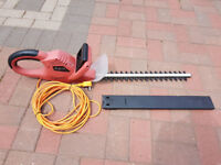 Sovereign Electric Hedge Trimmer in Excellent Condition