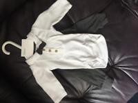 New born boys vest and trouser set never worn